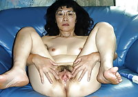 Asian Mature Pussy Mix 3