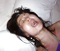 Asian Girl Getting facials