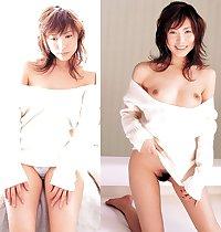 dressed & undressed Asians